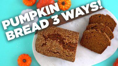 3 Easy PUMPKIN BREAD Recipes