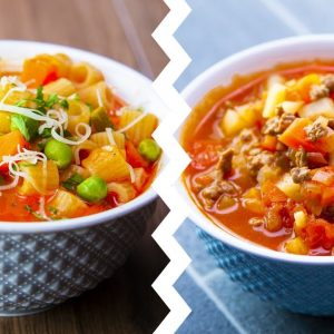 7 Healthy Soup Recipes For Weight Loss