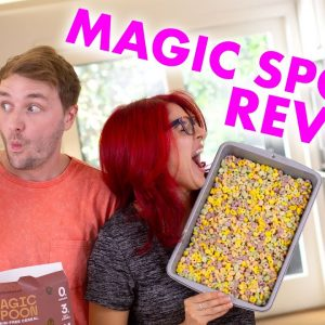 A healthy cereal that's ACTUALLY tasty? Finally! Magic Spoon Review