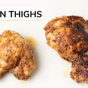 BEST BAKED CHICKEN THIGHS | easy recipe