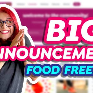 BIG FOOD FREEDOM ANNOUNCEMENT! Heal your relationship with food