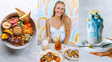 FULL DAY OF EATING OUT (the best vegan food in Bali)