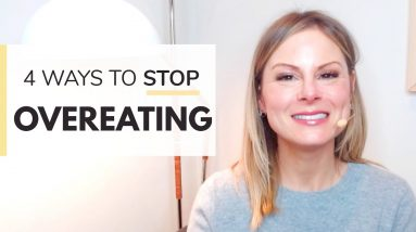 HOW TO STOP OVEREATING | 4 ways to stop eating so much