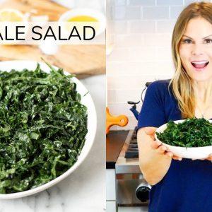 SIMPLE KALE SALAD | my go-to recipe