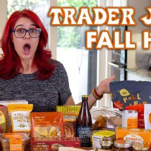 Trader Joes Fall Haul 2020 + Taste Test!