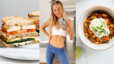 WHAT I EAT/Full Day of Eating + RECIPES