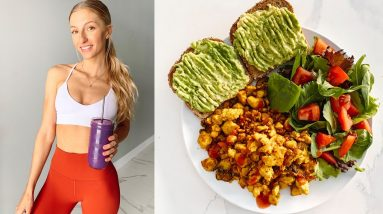 WHAT I EAT Pre & Post Workout Meal RECIPES