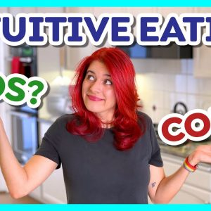 What is intuitive eating & does it work? My thoughts & gripes (Day 16)