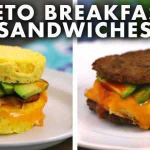 KETO Breakfast Sandwich Recipes