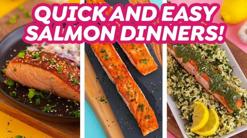 15-Minute Pan Seared Salmon Dinner Ideas