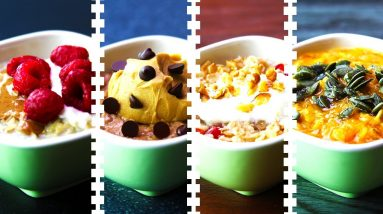 8 High Protein Oatmeal Breakfast For Weight Loss