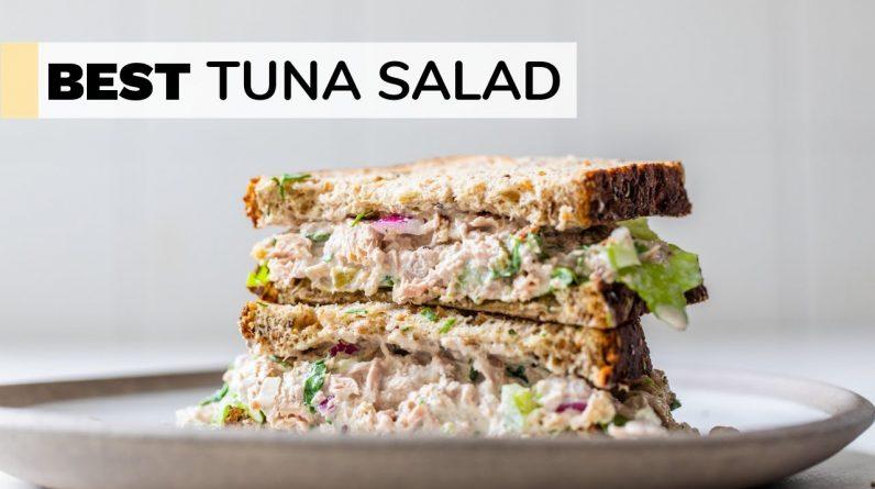 EASY TUNA SALAD RECIPE | healthy + quick
